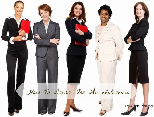 How To Dress For An Interview. This article has terrific advice on making a good first impression at a job interview.