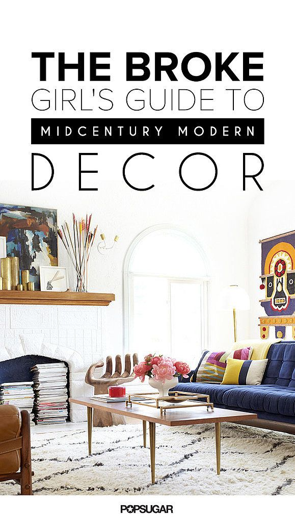 The Broke Girl's Guide to Midcentury Decor