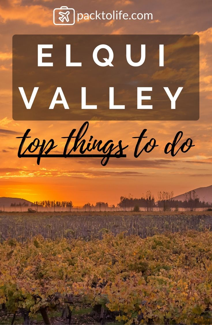 A hidden gem north of Santiago is the Elqui valley. Discover 5 top things to do in this valley, famous for the distillery of Pisco.
