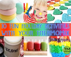 10 Fun Kids Activities with your Thermomix