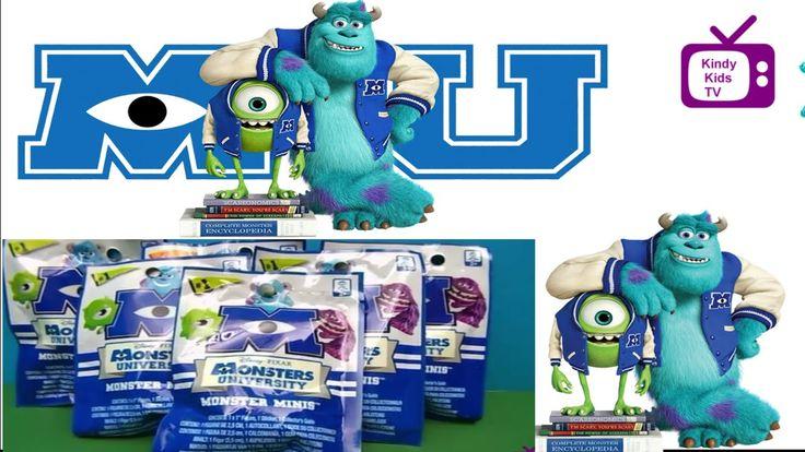 Monsters University. Mini Blind Bag.