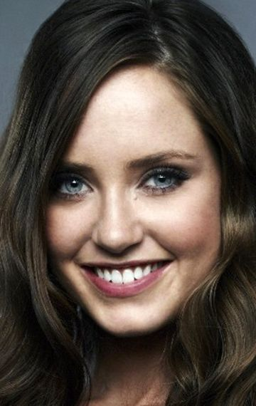 Merritt Patterson with those depending on the light Blue or Grey eyes