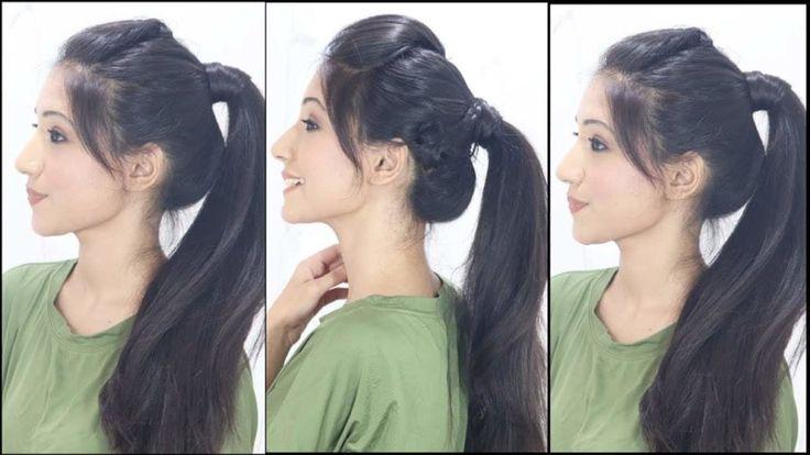 Einfache Und Einfache Frisuren Fur Schulmadchen 2019 Einfache Frisuren Schulmadchen Cute Ponytail Hairstyles Girls School Hairstyles College Hairstyles