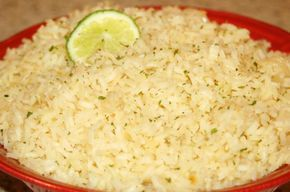 Arroz Blanco (Mexican White Rice) from Food.com:   When most people think of Mexican rice, they think of the typical tomato-flavored rice.  When I've been in Mexico, however, I've been served this type of white rice often.  This recipe is authentic Mexican and comes from Rick Bayless.
