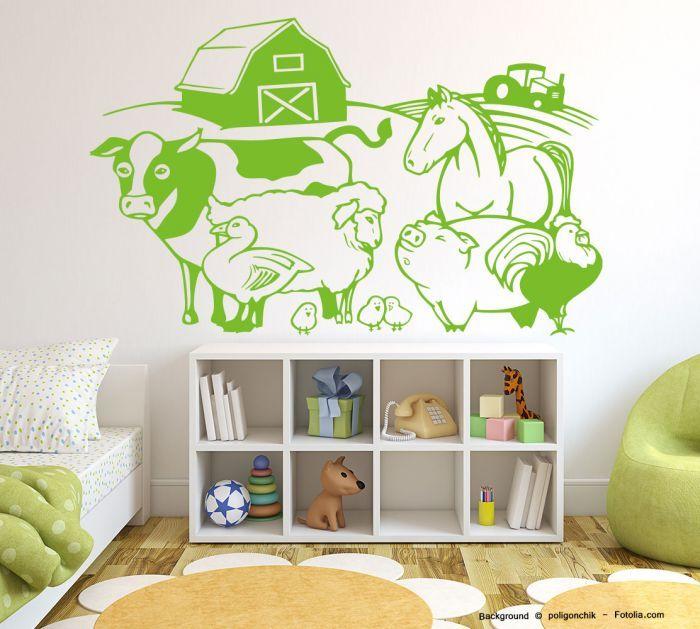 33 besten Wandtattoo Kinderzimmer Bilder auf Pinterest | Wandtattoo ...