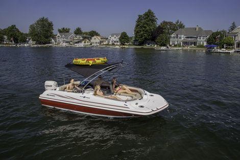 SunDeck Sport SS 201 OB - Hurricane Boats