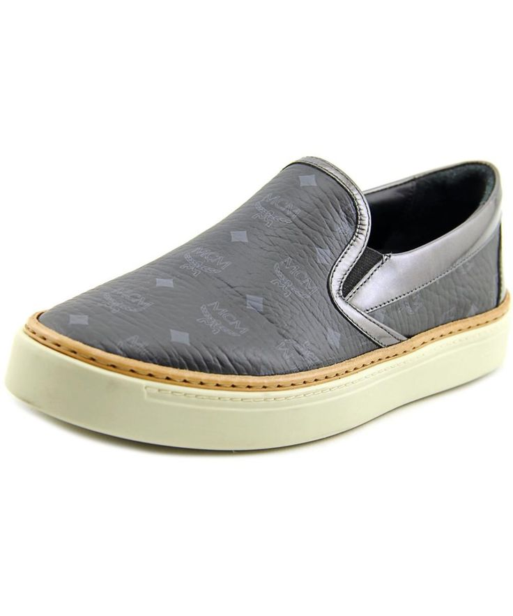 MCM Mcm Monogram    Leather  Fashion Sneakers'. #mcm #shoes #sneakers