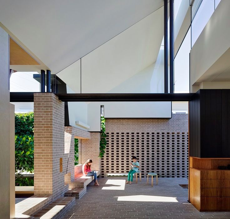 Aperture House in Brisbane, Australia by Cox Rayner + Twofold Studio.  Photography by Christopher Frederick Jones. More #bricks and #blocks on the blog