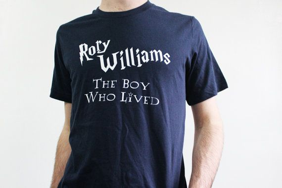 Doctor Who Shirt - Rory Williams, The Boy Who Lived - Sizes Small-2XL - Harry Potter Tee