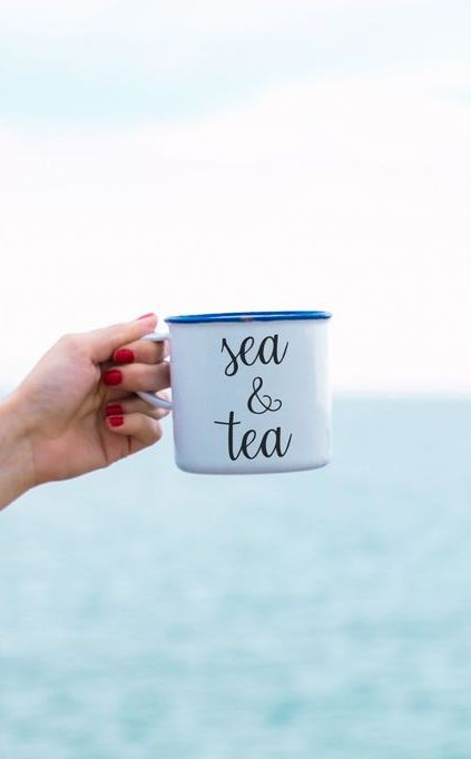 Sea & Tea what more could you want!! #mosieandfurl