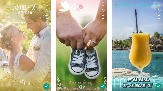 Snapchat now lets you create custom geofilters right in the app -  Snapchat introduced a way to create custom geofilters back in February of last year, and now it's making the feature easier to use. U.S. Snapchat users can now create and submit custom filters directly in the app, rather than having to go to the studio website to make their custom filter. The... - https://unlock.zone/news/snapchat-now-lets-you-create-custom-geofilters-right-in-the-app/