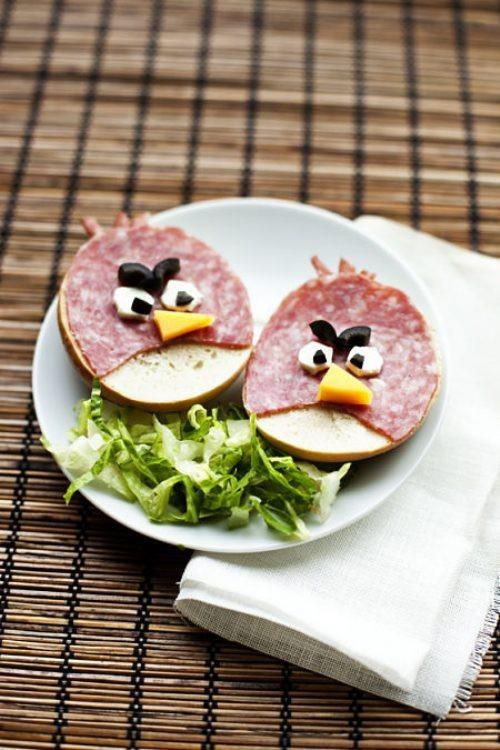 angry birds breakfast :)