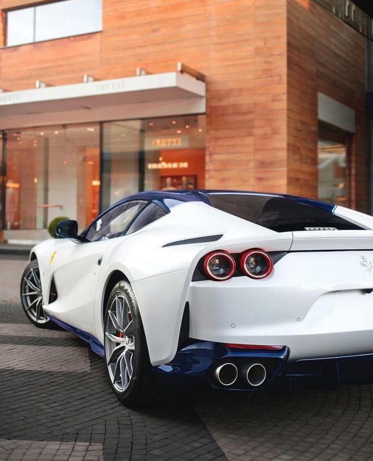 White Ferrari: White Ferrari, Ferrari Car