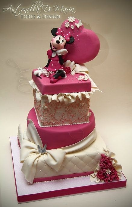 minnie mouse party ideas   Minnie and Micky Mouse Party Ideas / Minnie Mouse Cake