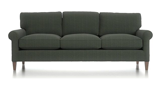 Montclair 3 Seater Sofa Reviews Crate And Barrel With Images