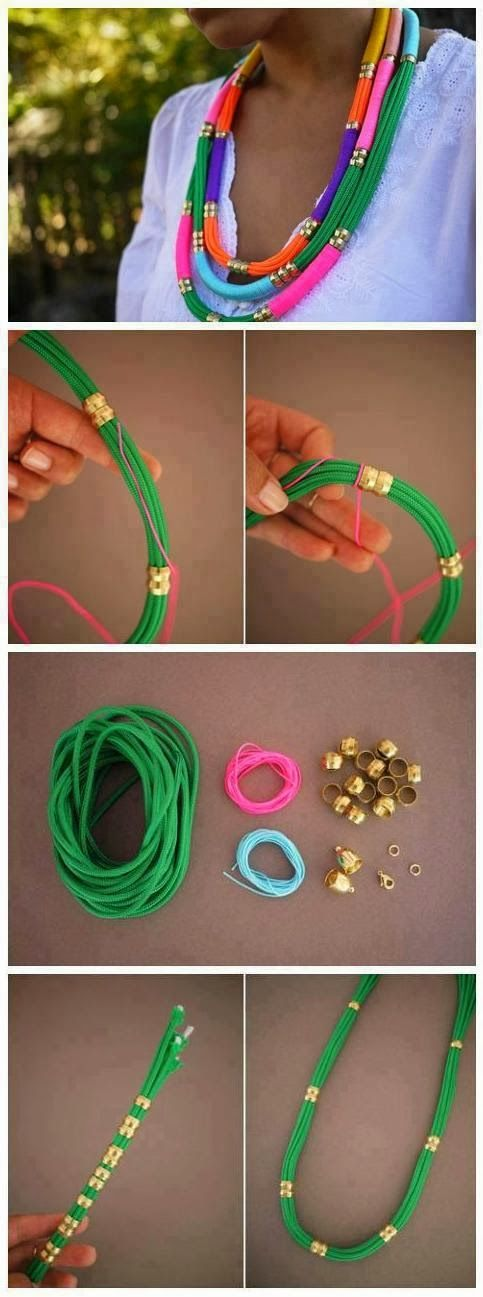 Make a Rope Necklace