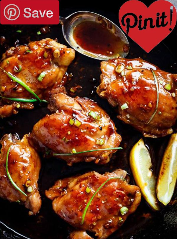 garlic teriyaki chicken thighs #delicious #diy #Easy #food #love #recipe #recipes #tutorial #yummy @ICookUEat - Make sure to follow @ICookUEat cause we post alot of food recipes and DIY we post Food and drinks gifts animals and pets and sometimes art and of course Diy and crafts films music garden hair and beauty and make up health and fitness and yes we do post women's fashion sometimes and even wedding ideas travel and sport science and nature products and photography outdoors and indoors…
