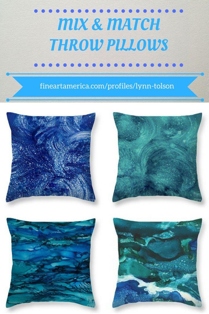 The Blues! abstract art by artist-designer #LynnTolson #FineArtAmerica to buy click image #ThrowPillow #CouchPillow #HomeDecor #HomeDesign #DesignerDecor #HomeAccessories #BeachHomeDecor #BeachCottage #YachtDecor #BlueThrowPillow #SeasideCottageDecor #BeachHouseDecorating #OceanArtAbstract #BlueHomeDecor #Blue