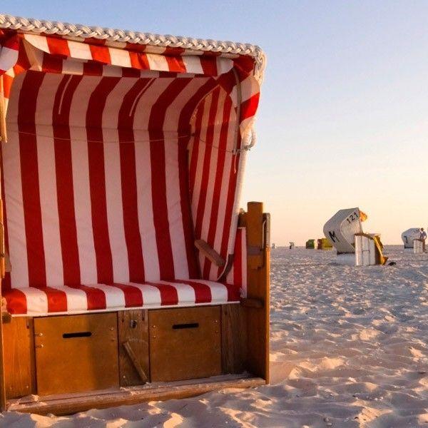 Strandkorb von SANSIBAR, der Kultmarke der Insel Sylt