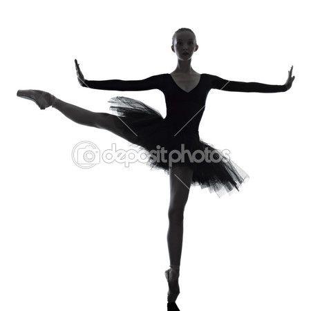 νεαρή γυναίκα Μπαλαρίνα χορευτής μπαλέτου χορό