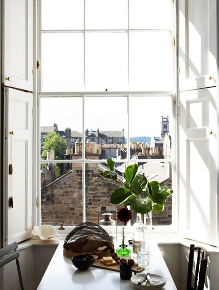 This is so much like the view from our kitchen window in Glasgow.