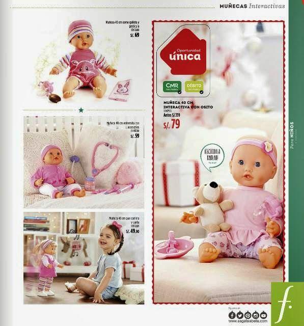 Muñecas en Oferta / Regalos de Navidad 2014 Saga Falabella
