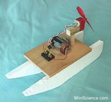 Simple Electric Circuit and a hybrid car boat