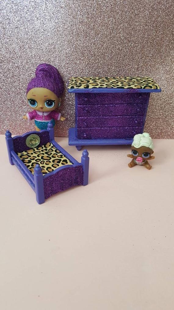Lol Surprise Dollhouse Furniture Set ooak miniature dollhouse furniture  www.ets… – LOL surprise doll custom furniture