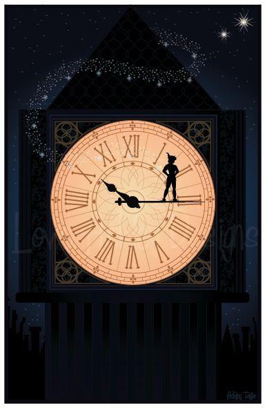 Peter Pan and don't forget Tink!. Segunda estrella y en línea recta hasta el amanecer.