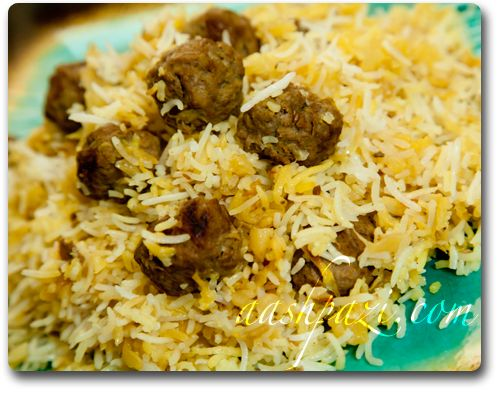 KALAM POLO - Cabbage With Rice - Persian