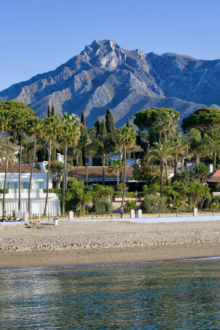 Marbella Beach in the Costa del Sol. #Spain #Marbella #CostaDelSol