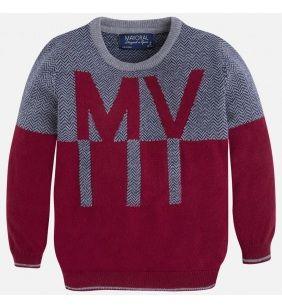 Chlapčenský pletený sveter Mayoral - Bordeaux