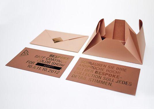15 Creative Envelope Designs Packaging Plegado De