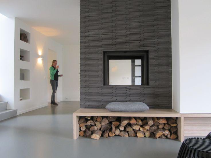 Studio ei ontwerp woning heemstede interieurontwerp en herindeling met meubelontwerpen - Huis met trap ...
