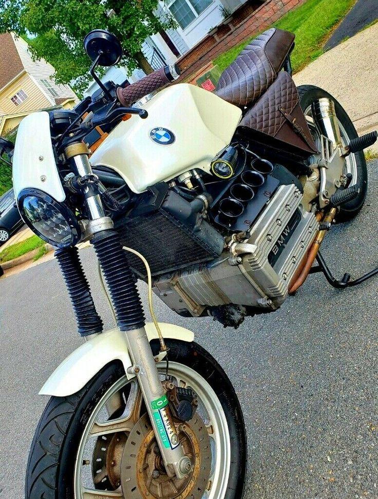 BMW K100 Ornamental Velocity Stacks / Intake Cones Cafe