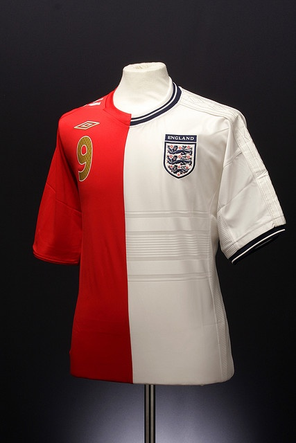 England Football Shirt  For more Lucozade football, see www.facebook.com/lucozadesportfootball