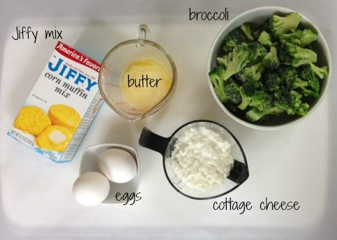 Today I thought I would share a delicious recipe that is quick, easy and economical - Broccoli Cornbread.