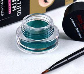 Cheap green eyeliner, Buy Quality eyeliner waterproof directly from China eyeliner cream Suppliers: 1Set Green Eyeliner Waterproof Cream with Brush Make Up Comestics Eye Liner Cream Pen Beauty Essentials Makeup Gel Glitter