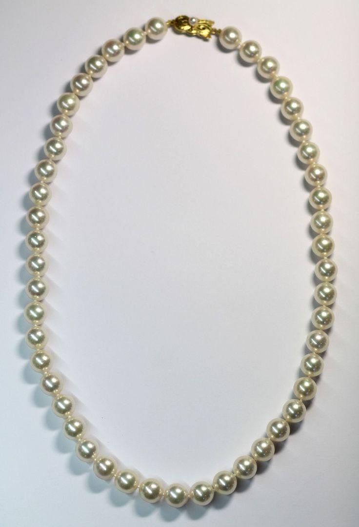 Vintage Rare Mikimoto Pearl Strand, Sold