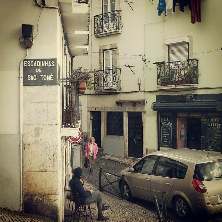 Street in Alfama, Lisbon