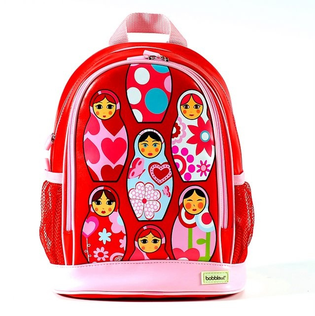 Bobble Art Large PVC Backpack - Babushka
