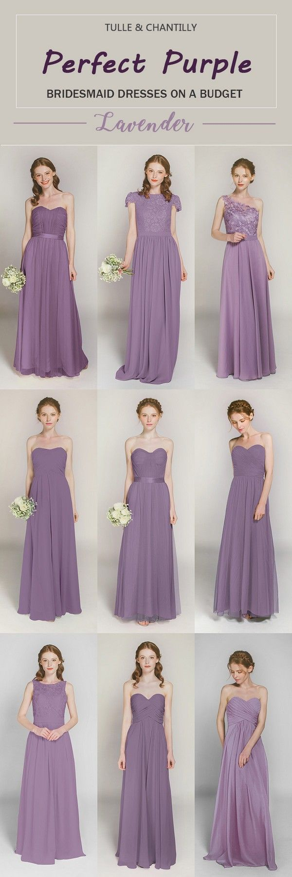 lavender bridesmaid dresses with other 40+ colorstul