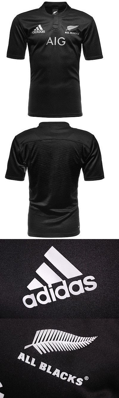 Rugby 21563: New Zealand Mens All Blacks Rugby Jersey Size S-3Xl -> BUY IT NOW ONLY: $44.95 on eBay!