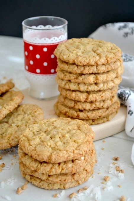Royal Caribbean's Coconut Ranger Cookies originally made by Joan from Chocolate, Chocolate and More. One of THE best Cookies, evah!: