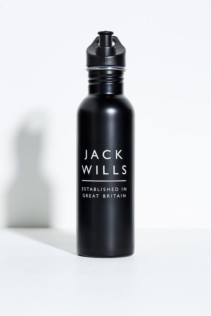 ANGOLD METAL WATER BOTTLE BLACK