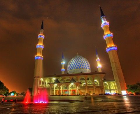Breathtaking Mosques in Malaysia: The Shah Alam Mosque