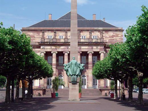 Strasbourg -opéra du Rhin et place Brogli