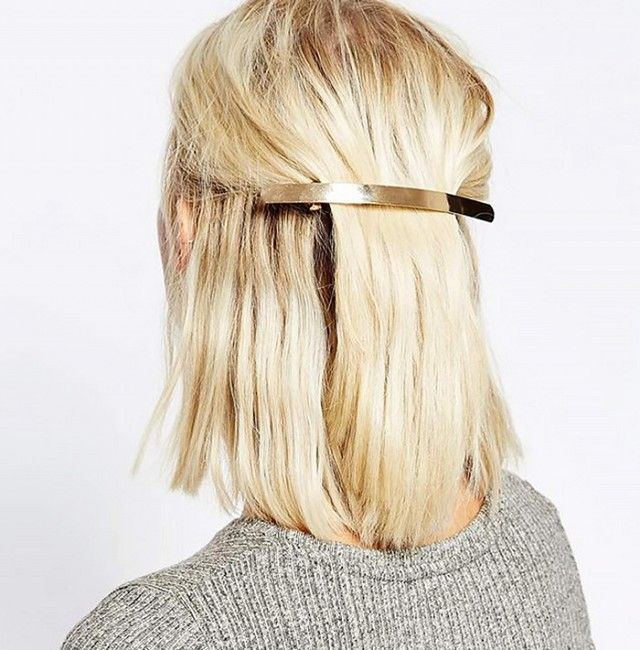 A statement barrette is an easy way to take your hair game to the next level
