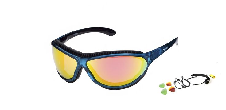 Created for the lovers of the most extreme watersports. The TIERRA DE FUEGO by OCEAN Sunglasses, it is a model with a great personality, technical and resistant to any adversity.  With Its coating-water repellent, anti-impact protection and the protector of sprinklings you will only have to worry about sailing. Polarized lenses with ATOM system destined to offer a maximum ocular protection against solar rays. >> http://oceangla.nextmp.net/Europe/tierradefuego-watersports-sunglasses.html