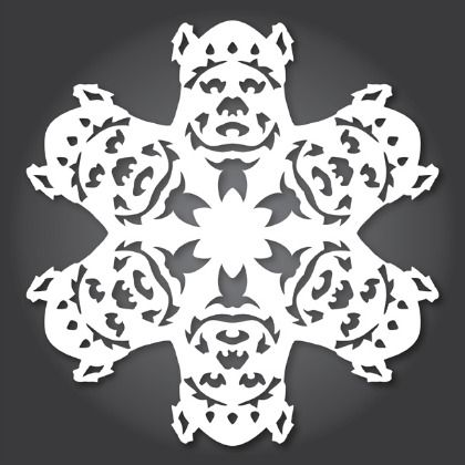 30 Free Printables of Star Wars Snowflake Templates